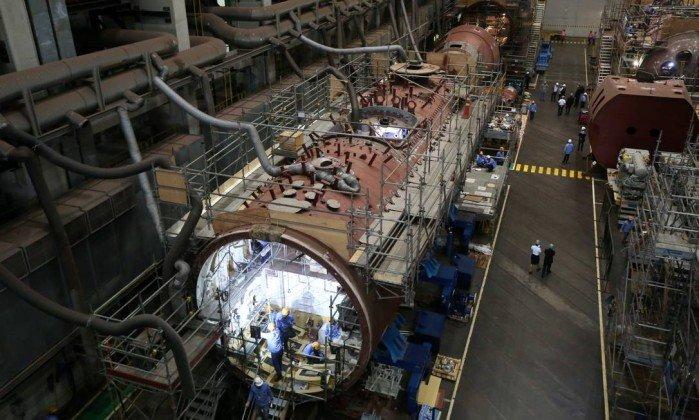 PROSUB: Programa da Marinha  sofre com crise fiscal