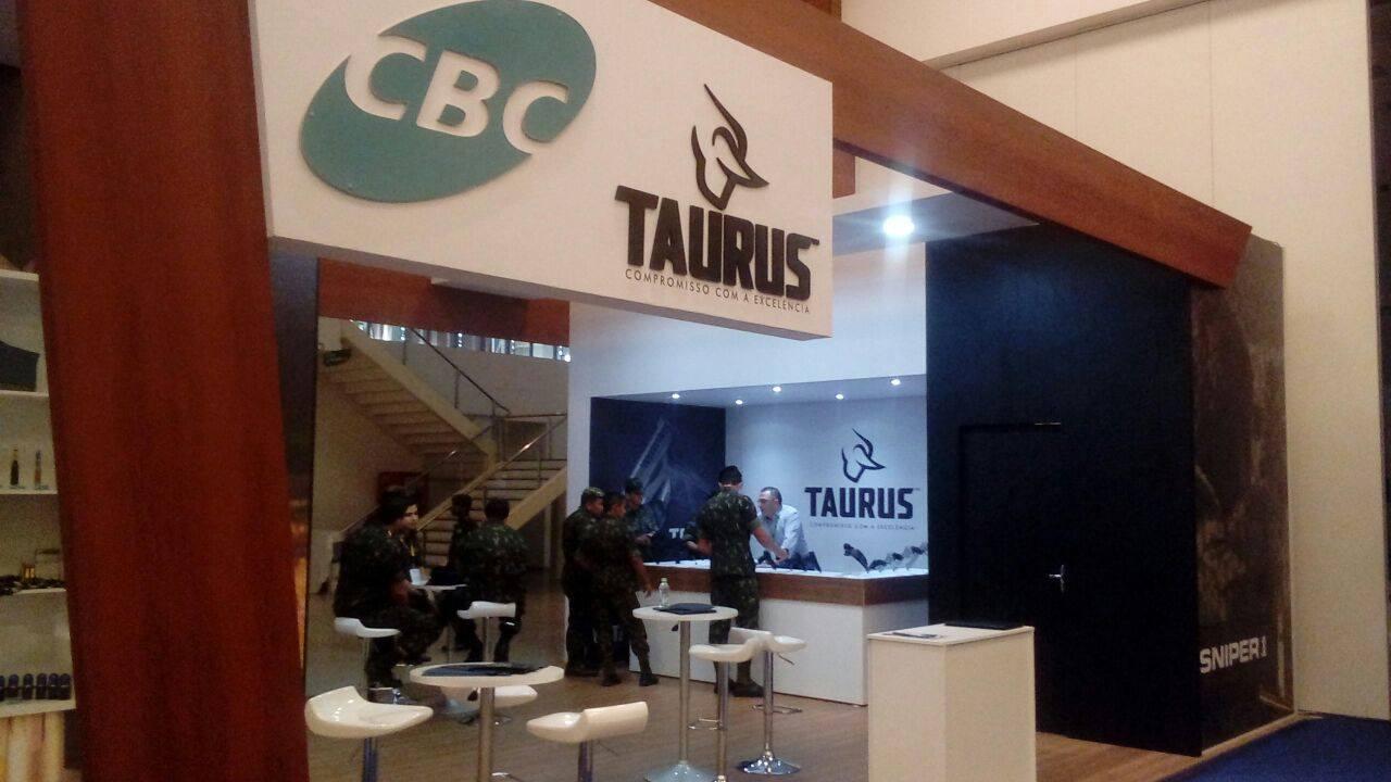 Taurus participa do AmazonLog Expo 2017, no Centro de Convenções do Amazonas, em Manaus.