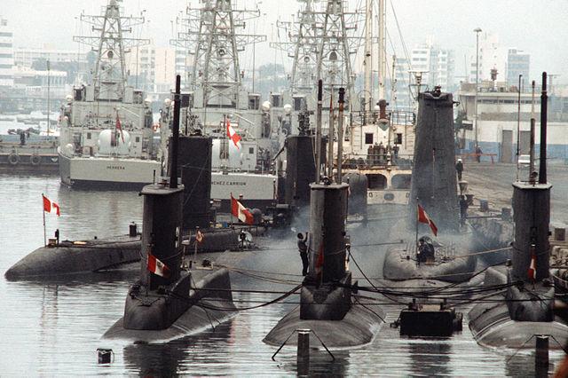 INSIDER/Cultura Militar: Um lado esquecido da Guerra do Cenepa! O bloqueio naval exercido em 1995 pelos submarinos peruanos na fronteira marítima entre o Peru e o Equador