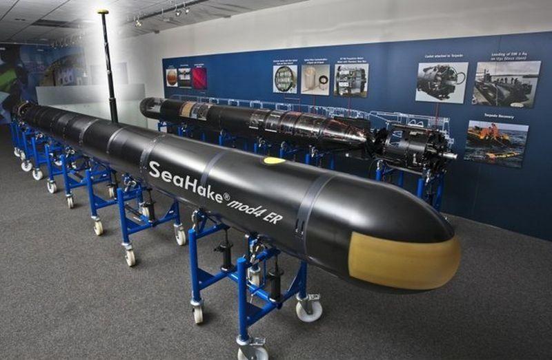 Marinha sul-africana está selecionando um novo torpedo pesado para os seus IKL-209; DM2A4 'Seehecht' é o favorito