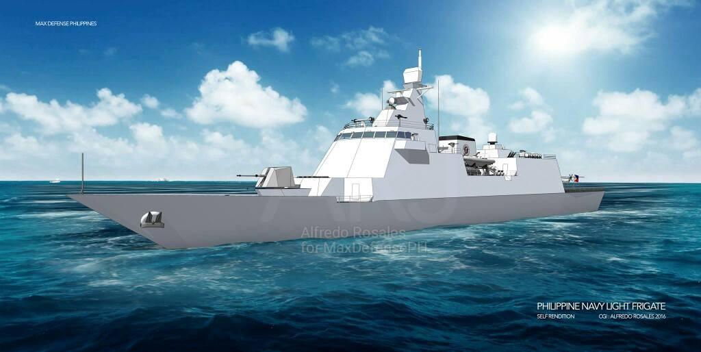 Navios Asiáticos! Sem nenhuma tradição na construção naval militar, Filipinas se propõe a fabricar 2 fragatas porta-mísseis (investindo nelas menos do que a MB prevê gastar na 1ª 'Tamandaré'…)