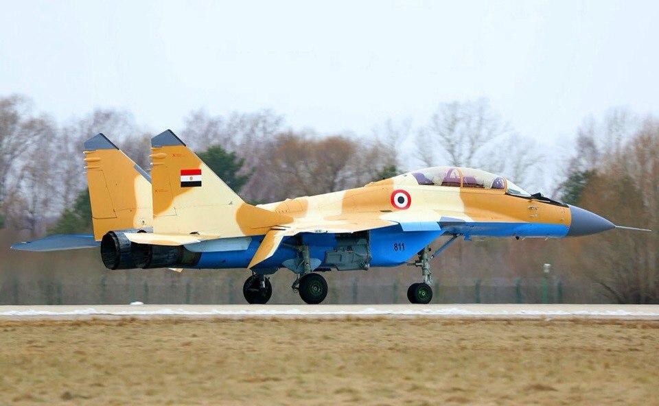 A Rússia fornecerá ao Egito cerca de 50  MiG-29M2