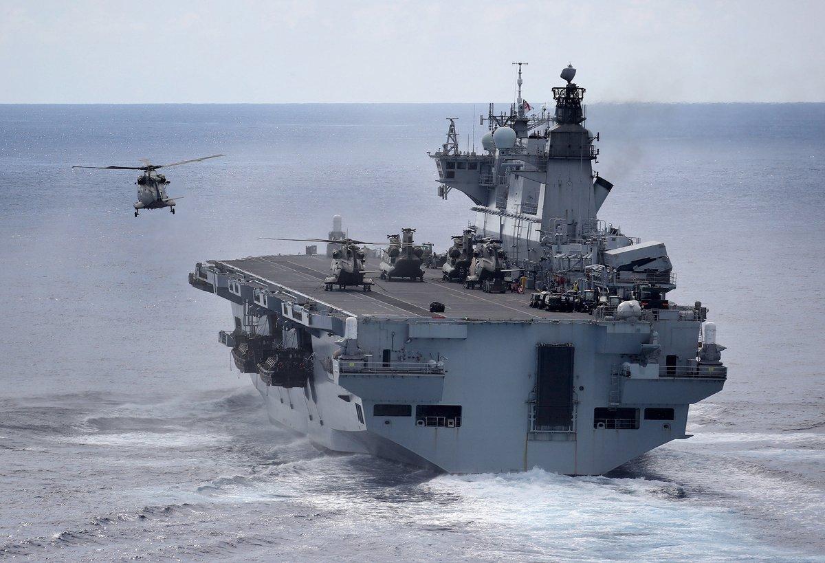 EXCLUSIVO: A guerra para desacreditar o porta-helicópteros 'Ocean' junto à Marinha do Brasil! Detratores 'compram' versão do 'Daily Telegraph' e omitem reação do MoD britânico