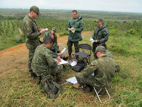 ADSUMUS: Curso de Aperfeiçoamento de Oficiais do Corpo de Fuzileiros Navais (CAOCFN) realiza exercício no terreno em Sergipe