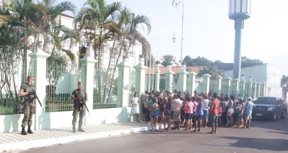 FAB PÉ DE POEIRA: Grupo de Segurança e Defesa da Ala 8  garante o exercício de cidadania aos amazonenses