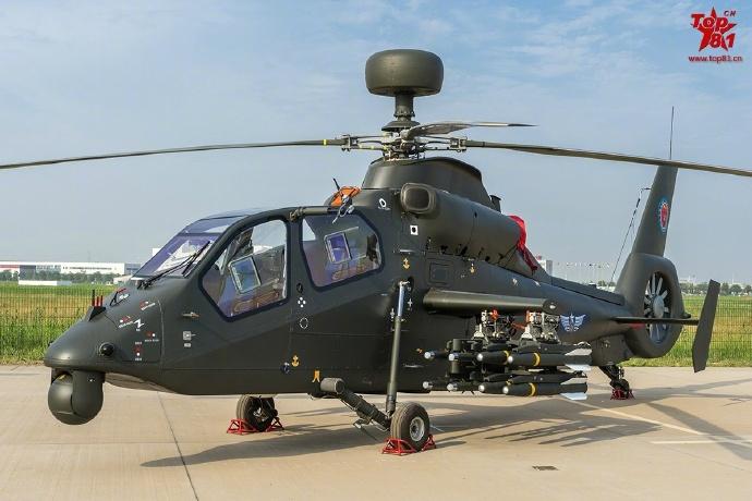 China apresenta nova variante do helicóptero de ataque Harbin Z-19 equipado com radar de ondas milimétricas