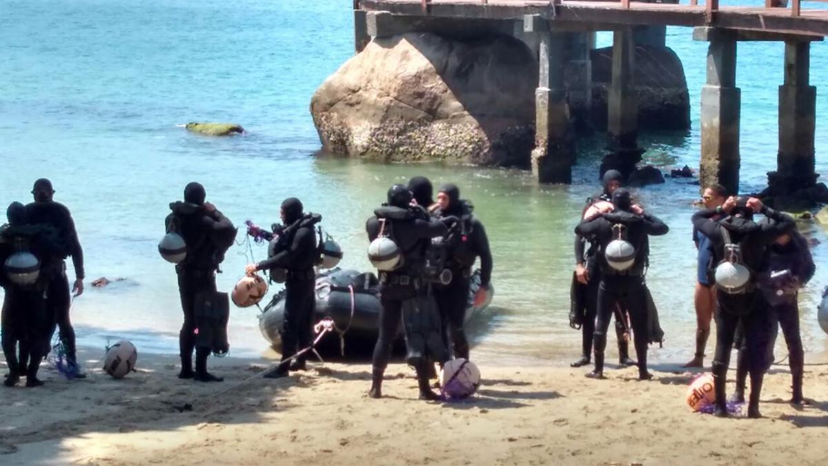Curso de Mergulhadores de Combate tem fase no Colégio Naval