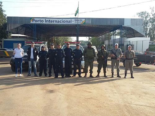 ADSUMUS: Grupamento de Fuzileiros Navais de Rio Grande (GptFNRG)  participa da Operação Ágata 2017  em Uruguaiana-RS