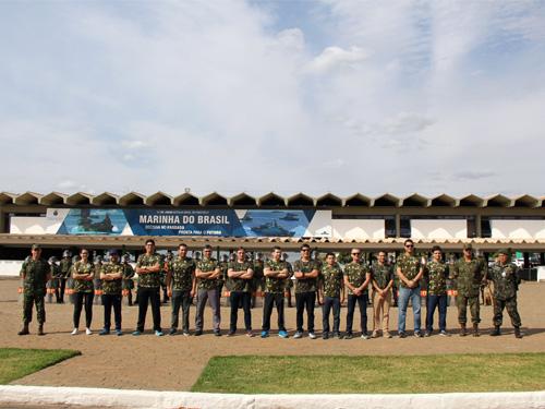 ADSUMUS: Grupamento de Fuzileiros Navais de Brasília recebe visita de Magistrados do Superior Tribunal Militar