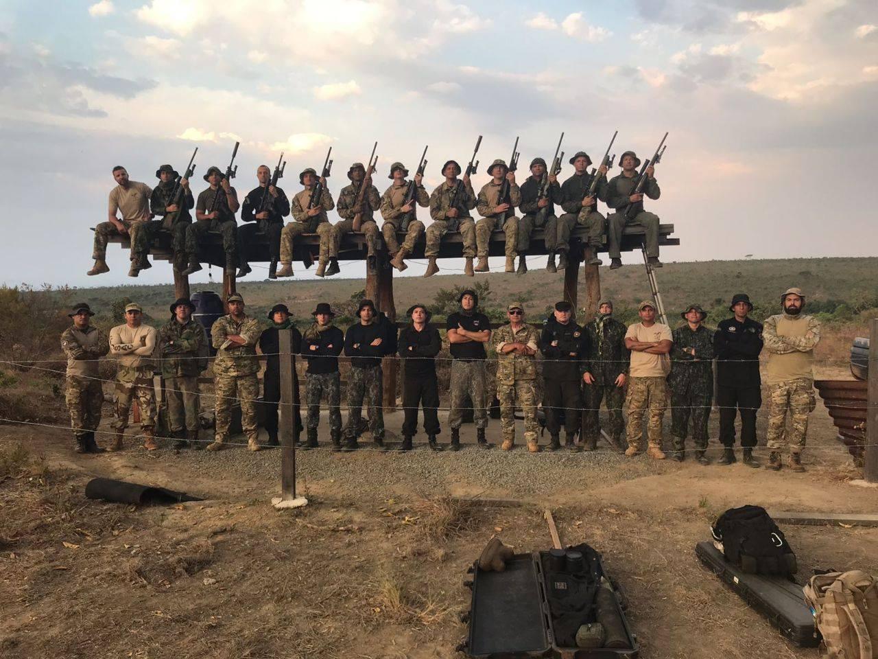 Comando de Operações Táticas (COT) da Polícia Federal, realizou simpósio de atiradores de precisão