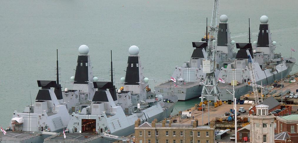 TECNOLOGIA: Modernizar a frota de destróieres britânicos Tipo 45 custará 1,16 bilhão de Reais; conheça alguns detalhes técnicos desses reparos