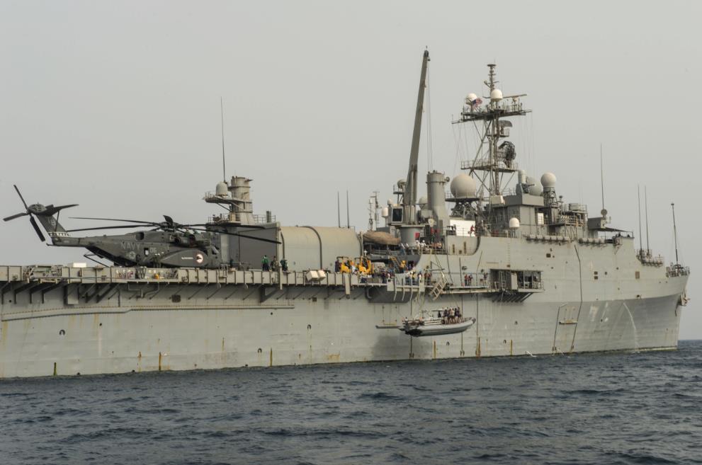Navio-doca que a Marinha Argentina pensou em comprar volta aos Estados Unidos para ser desprogramado (mas americanos dizem que vão vende-lo como sucata)