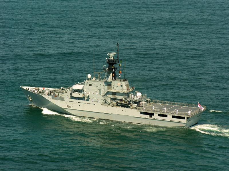 O desmanche da frota britânica! 'Royal Navy' vai disponibilizar 3 navios classe River (Amazonas) com pouco uso… (Isso é para nós? Nos convém ficar com algum?)