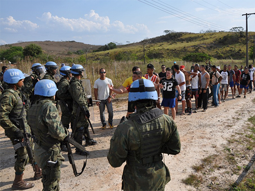 """ADSUMUS:  Força de Fuzileiros da Esquadra (FFE) participa da Operação """"Felino 2017"""""""
