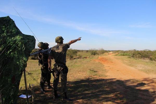 FAB PÉ DE POEIRA:  Primeiro Grupo de Defesa Antiaérea (1º GDAAE – Grupo Laçador) encerra atualização do Plano de Defesa Antiaérea da Ala 3