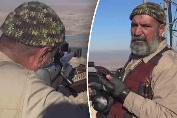 Tombado em batalha -Abu Tahseen o lendário herói de guerra e Sniper Iraquiano