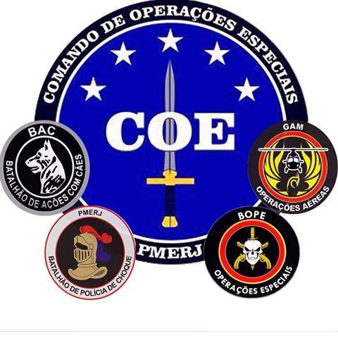 Vídeo: COE Comando de Operações Especiais da PMERJ