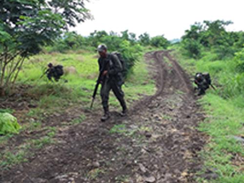 ADSUMUS: Acampamento marca fase final do Curso de Soldados Fuzileiros Navais em São Tomé e Príncipe