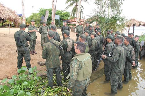 ADSUMUS: Grupamento de Fuzileiros Navais de Brasília realiza Adestramento em Palmas (TO)