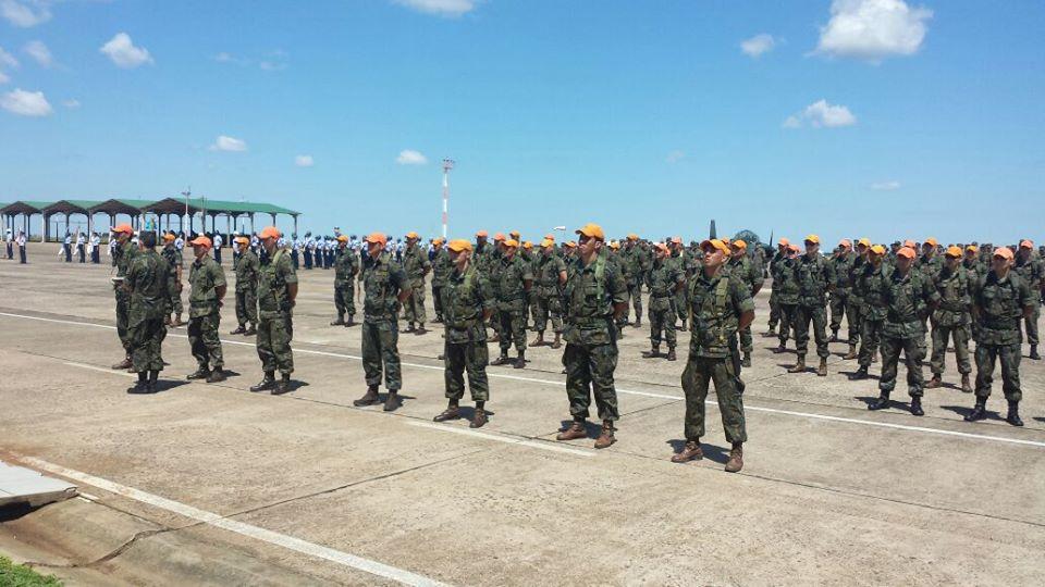 FAB PÉ DE POEIRA: Formatura do Curso de Para-Comandos 2017