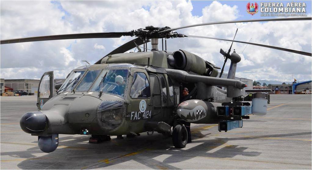 Helicópteros de Ataque! Força Aérea Colombiana prepara a instalação de três esquadrões de aeronaves antitanque em postos de fronteira