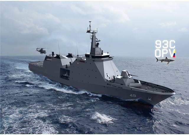 Continuamos 'comendo poeira': Cotecmar e Armada colombiana fixam para o 3º trimestre de 2022 a entrega do 1º patrulheiro de 2.550 tons.(porte comparável ao da CCT brasileira…)