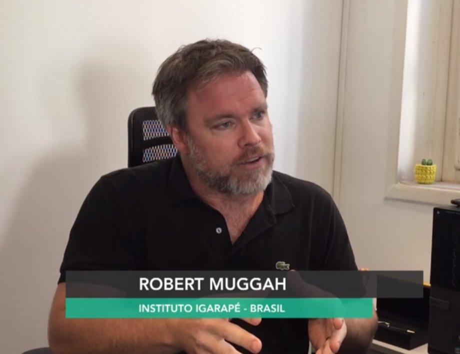 Segundo Robert Muggah, diretor do instituto Igarapé o Brasil precisa de mais transparência no comércio de armas