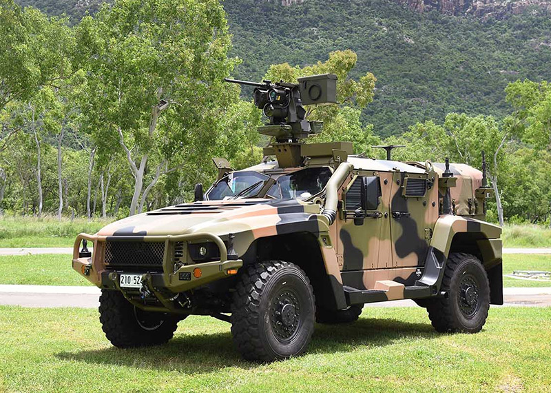 MERCADO DE BLINDADOS: Polônia negocia veículos Australianos Thales Hawkie 4×4