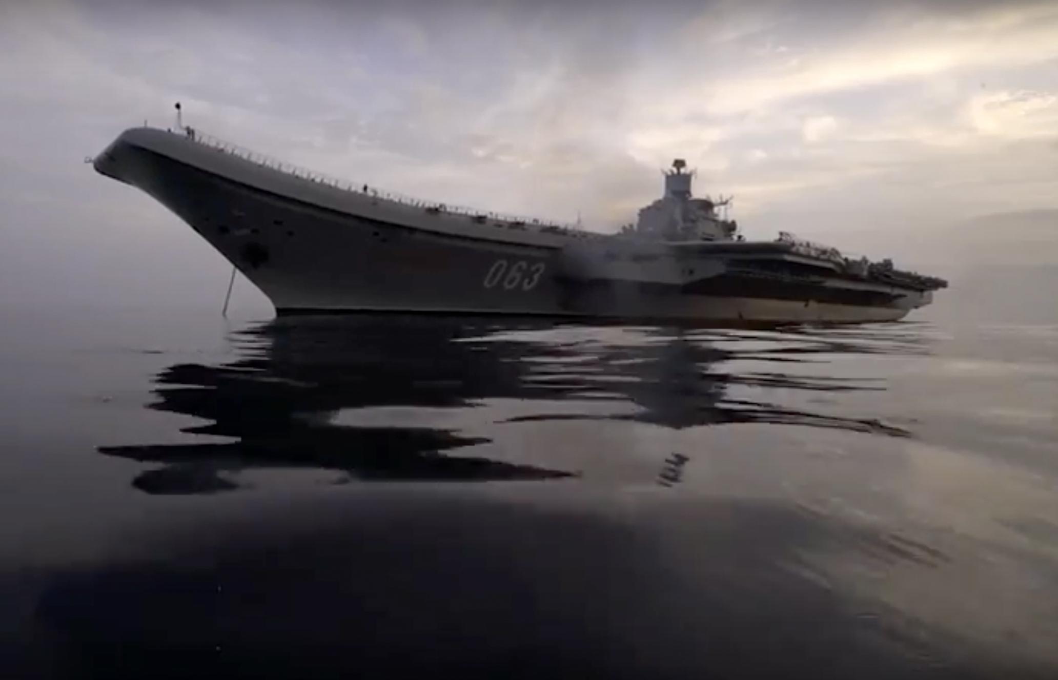 Operações navais do Porta aviões Almirante Kuznetsov na Síria trouxeram importantes lições e incluíram novos programas de treinamento.