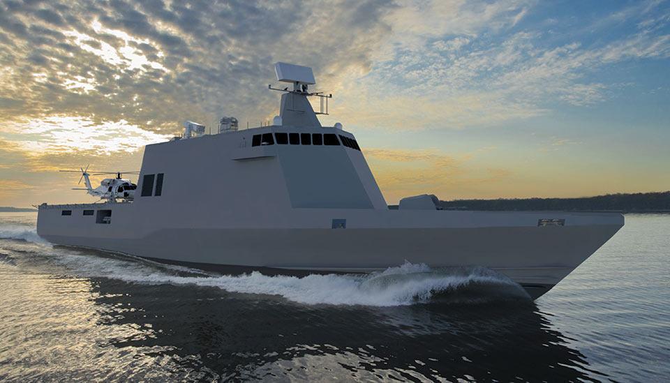 TECNOLOGIA: Corveta compacta americana reduz ainda mais as chances de mercado do patrulheiro francês classe L'Adroit