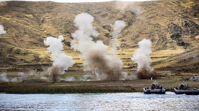 GALERIA: Uma operação de desembarque anfíbio como você nunca viu! A cargo de um batalhão de fuzileiros navais da Bolívia, no Lago Titicaca…