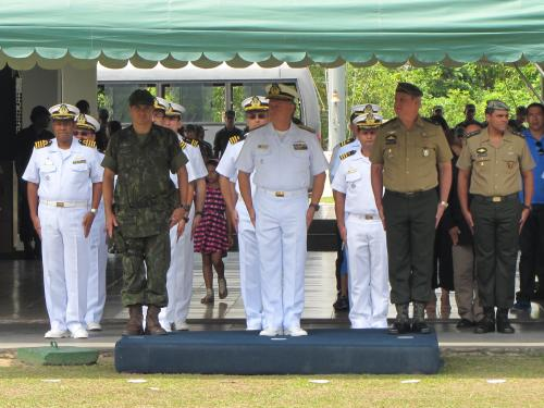 ADSUMUS: 1º Batalhão de Operações Ribeirinhas realiza cerimônia em comemoração ao 32º aniversário
