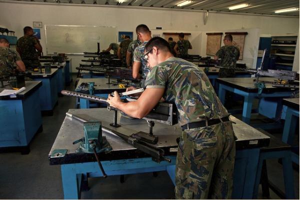 FAB PÉ DE POEIRA: Força Aérea Brasileira celebra 73 anos do Dia do Material Bélico da Aeronáutica