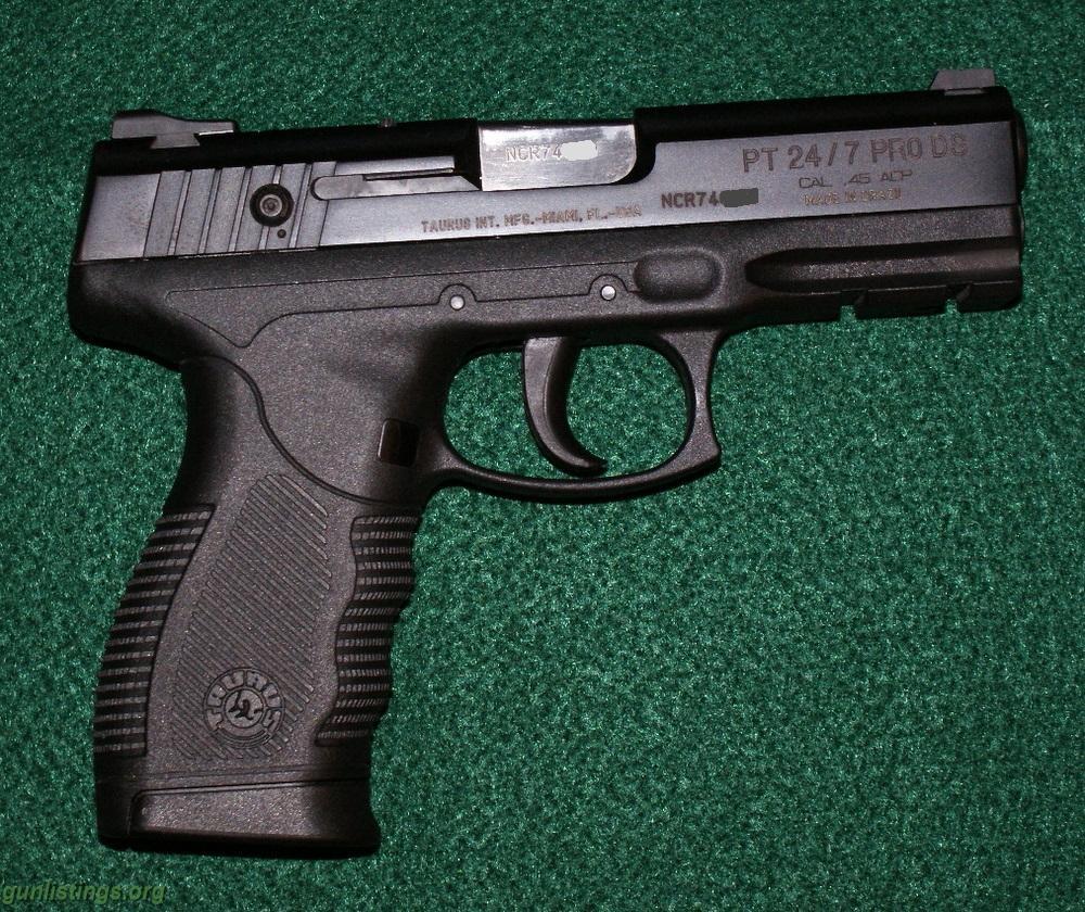 Polícia Militar do Estado de Goiás inicia recolhimento das pistolas Taurus 24/7 Pro D