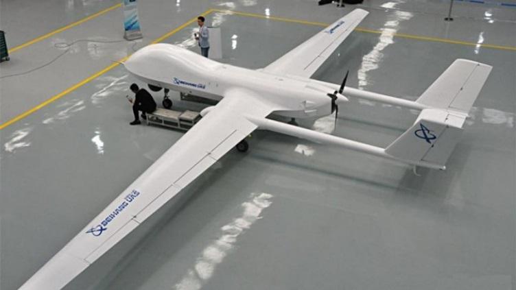 A chinesa Beihang revela novo UAV TYW-1 capaz de atacar