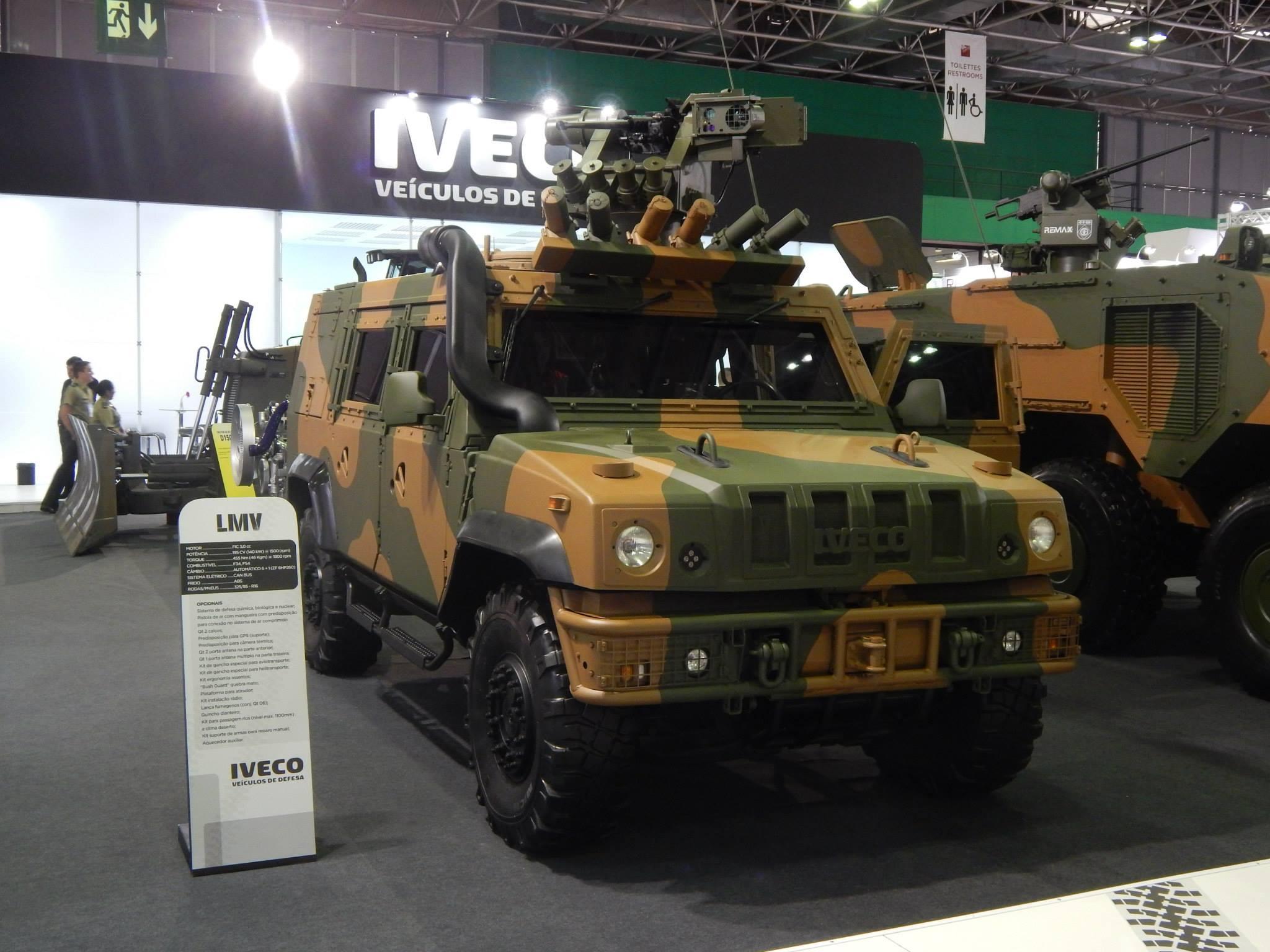 Jane's diz que Exército Brasileiro está próximo de assinar contrato de compra das viaturas blindadas LMV 4×4 da Iveco