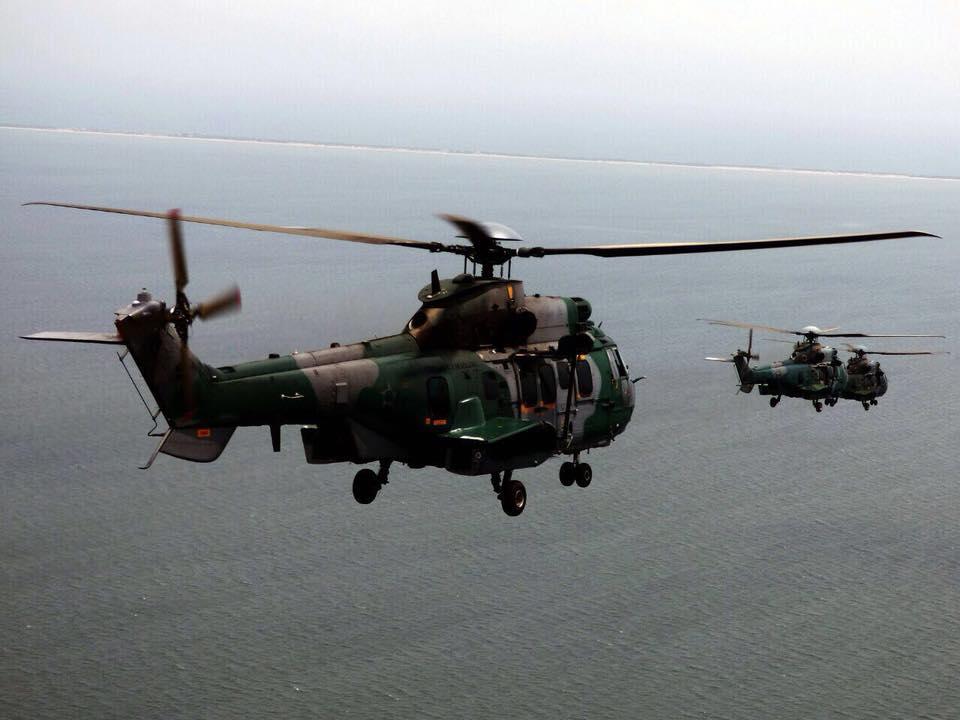 Esquadrão Puma (3º/8º GAV) realiza voo de Formatura com helicópteros H-36 Caracal