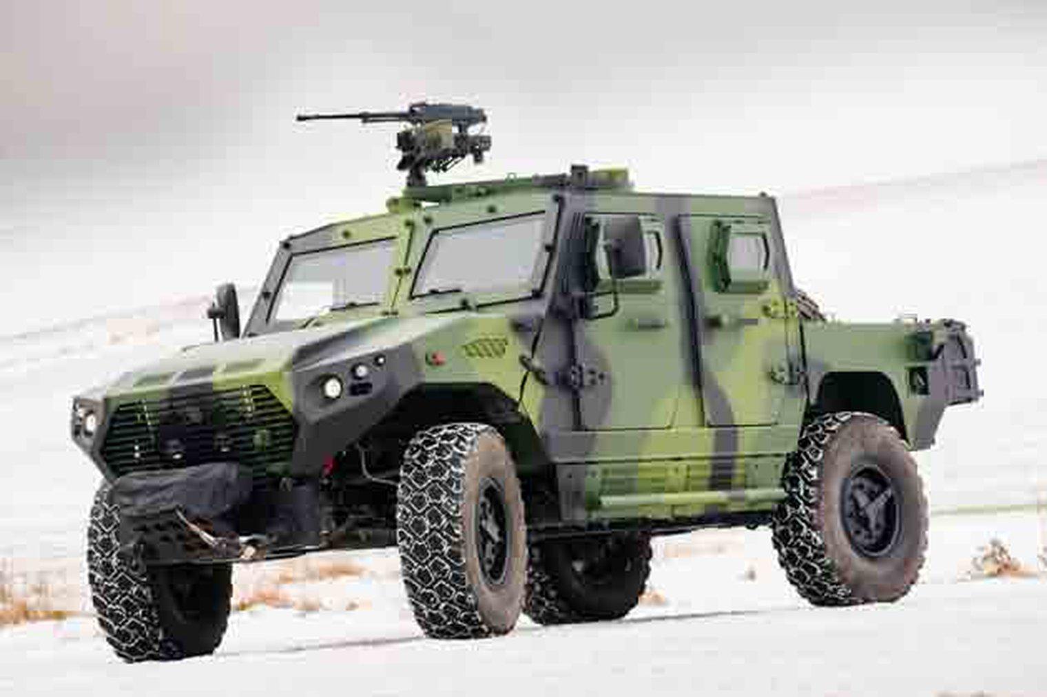 Emirados Árabes pode apresentar ao EB proposta para veículos blindados Ajban 440A para serem usados na Missão Multidimensional Integrada das Nações Unidas de Estabilização na República Centro-Africana (MINUSCA).