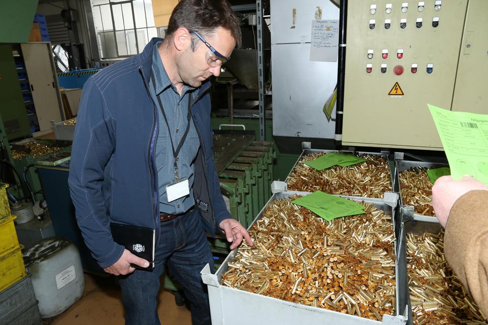 RUAG Ammotec se prepara para ter produção de munições em Pernambuco
