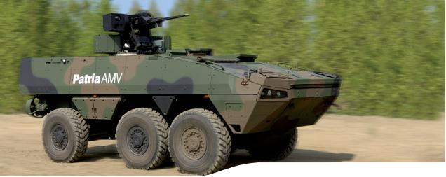 Conheça o Patria AMV 6X6
