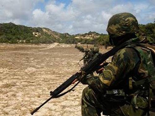 ADSUMUS: Grupamento de Fuzileiros Navais de Natal (GptFNNa) realiza exercício na Praia de Muriú
