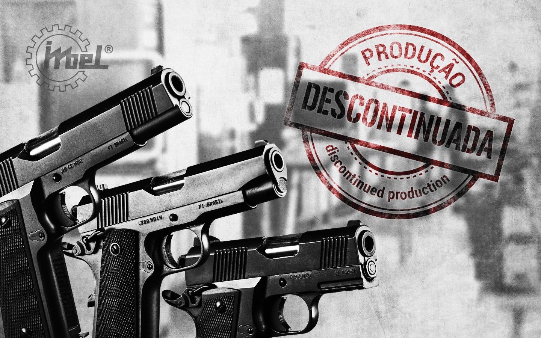 IMBEL: Descontinuação da produção e venda de pistolas