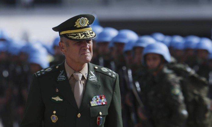 Comandante do Exército General Eduardo Villas Bôas  manifesta preocupação com uso frequente de militares para atuar na segurança