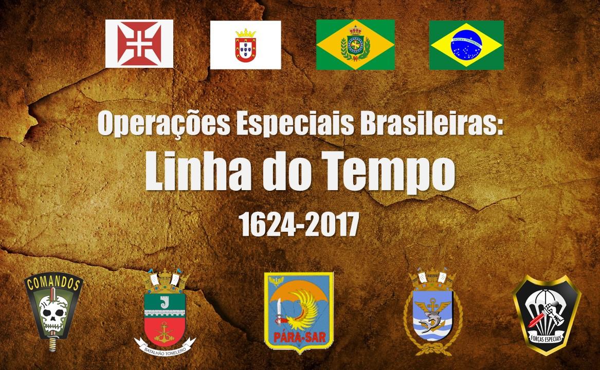 FOpEsp: Cronologia Histórica das Operações Especiais Brasileiras
