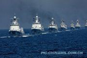 O aumento colossal da marinha chinesa.