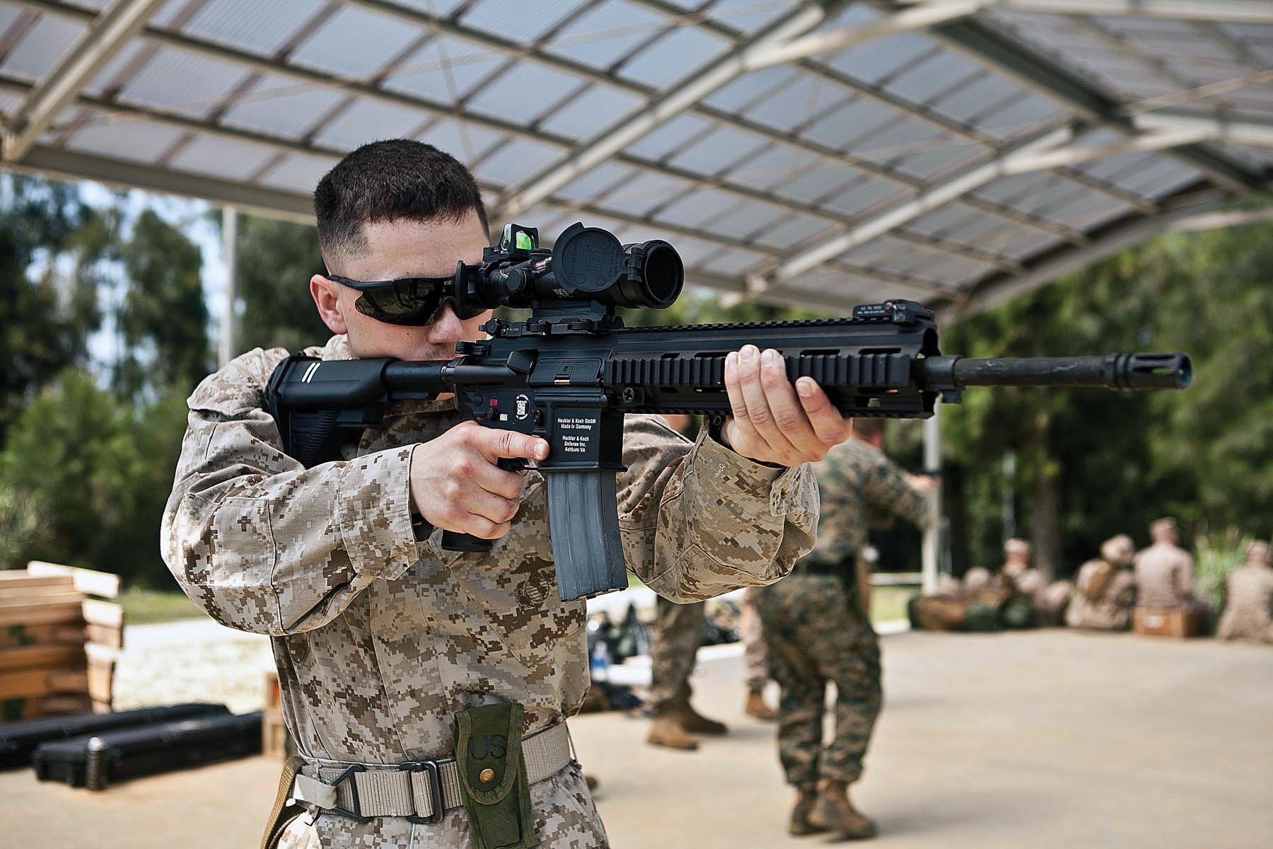 Heckler & Koch M27 é a nova arma dos Marines