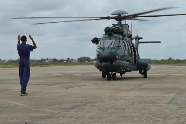 Esquadrão Falcão (1º/8º GAV) e o Segundo Esquadrão de Transporte Aéreo (2º ETA)  passam a operar a partir de Natal (RN)