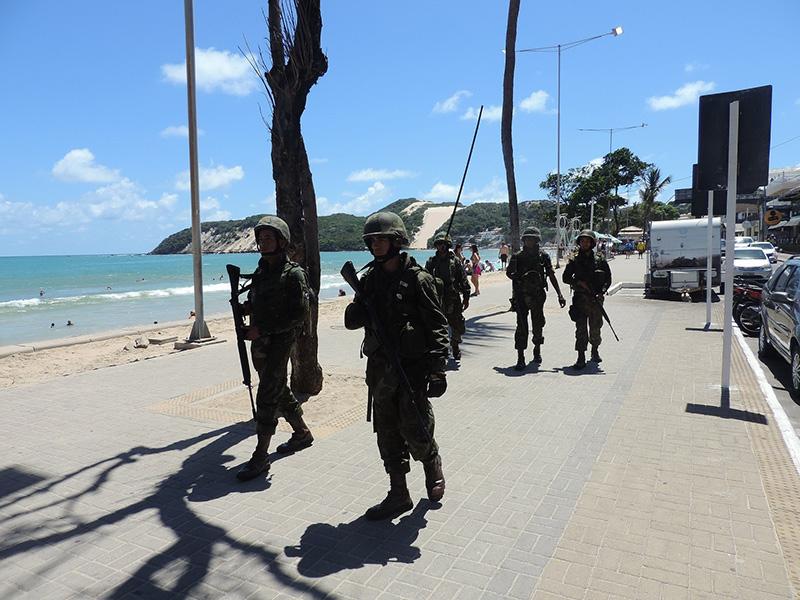 """ADSUMUS: Grupamento de Fuzileiros Navais de Natal (GptFNNa) encerra participação na Operação """"Potiguar III"""" no Rio Grande do Norte"""