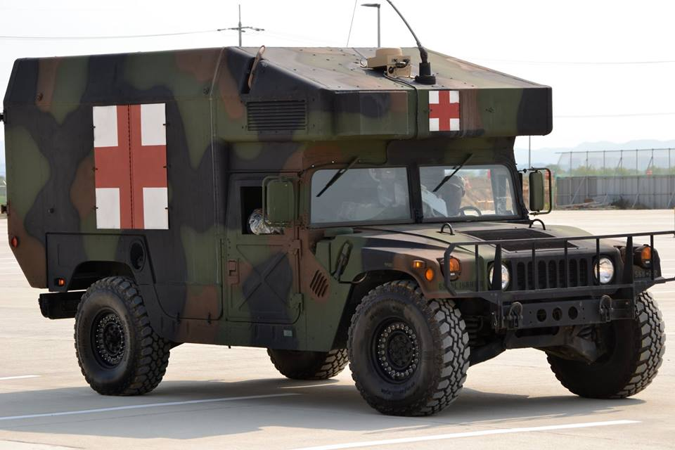 Exército Argentino recebe novo lote de veículos Humvee