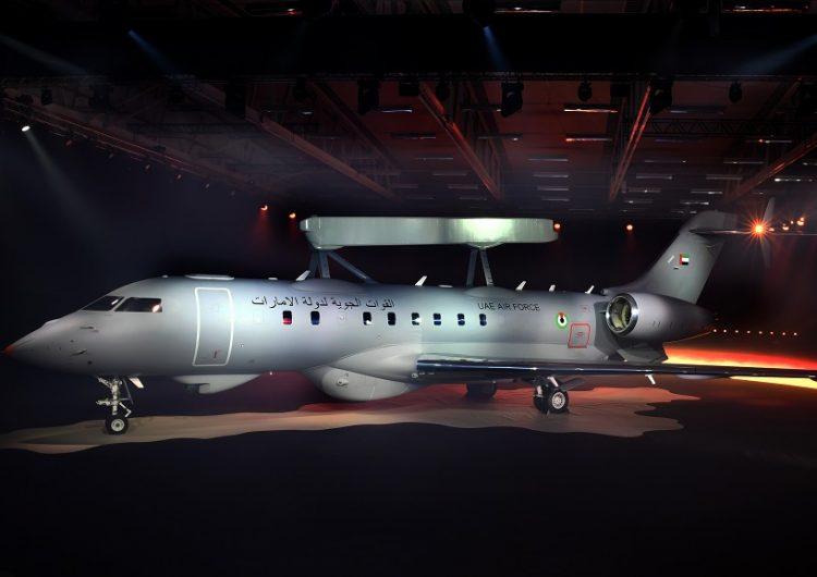 Saab lança primeira aeronave GlobalEye AEW & C baseada no Global 6000